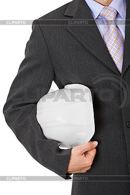 Inżynier z kaskiem | Foto stockowe wysokiej rozdzielczości |ID 3152677