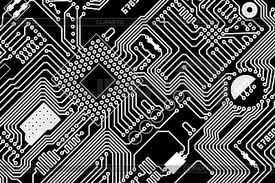 Elektronische Platine | Illustration mit hoher Auflösung |ID 3153851