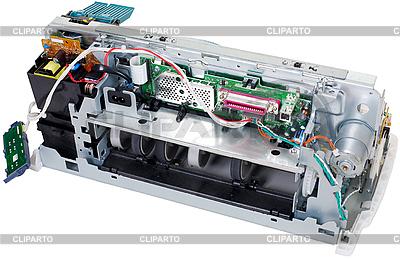 Broken drukarka | Foto stockowe wysokiej rozdzielczości |ID 3168859