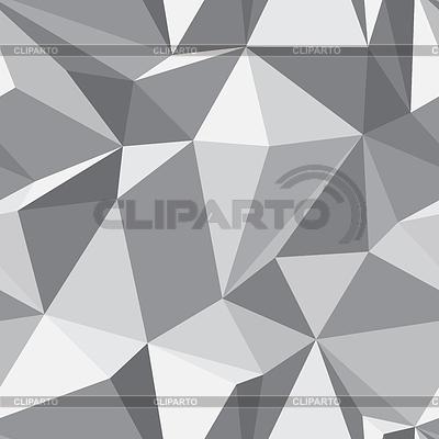 Алмазный бесшовный фон - абстрактная полигональная текстура | Векторный клипарт |ID 3381411