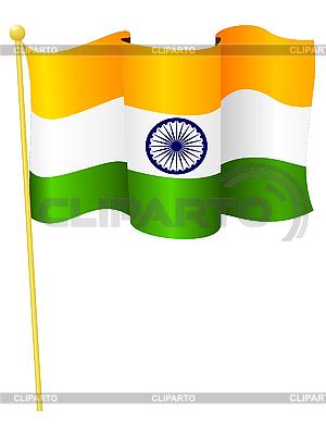 National flag of India | Klipart wektorowy |ID 3144458
