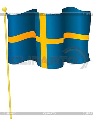Flagge von Schweden | Stock Vektorgrafik |ID 3146180