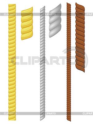 Set von Seilen | Stock Vektorgrafik |ID 3206092