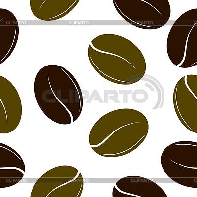 Вектор кофейное зерно 7