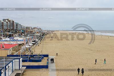 Herbst-Strand in Haag. Niederlande | Foto mit hoher Auflösung |ID 3278166