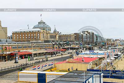 荷兰的海滩度假胜地著名的Kurhaus酒店 | 高分辨率照片 |ID 3278168