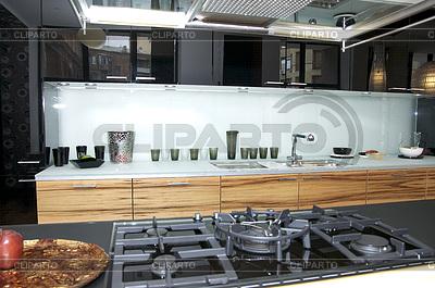 Stilvolle Küche | Foto mit hoher Auflösung |ID 3338719
