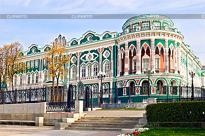 Историческое здание в Екатеринбурге | Фото большого размера |ID 3203427