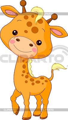 Zabawna żyrafa | Klipart wektorowy |ID 3204923