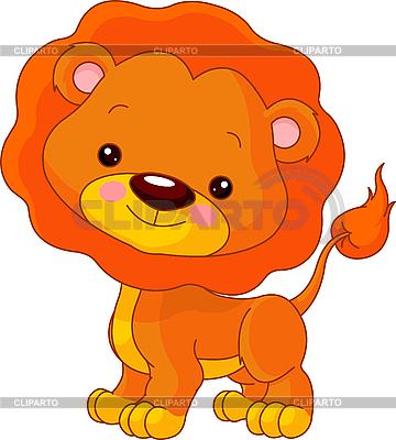 Funny Lion | Klipart wektorowy |ID 3205189