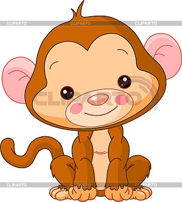 Funny Monkey | Klipart wektorowy |ID 3205191