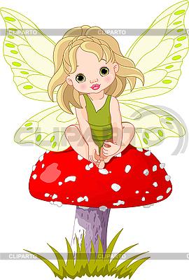 Bajki dla dzieci na grzyby | Klipart wektorowy |ID 3210343