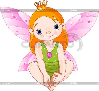 Mała księżniczka   Klipart wektorowy  ID 3253068