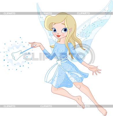 Tooth Fairy z różdżką | Klipart wektorowy |ID 3253110
