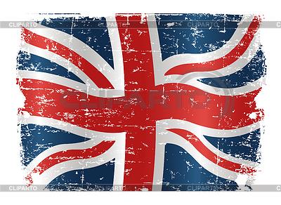 Grunge-Flagge von Großbritanni | Stock Vektorgrafik |ID 3267691