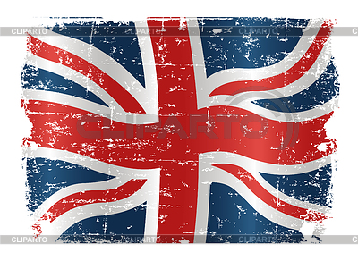 UK flag grunge design | Klipart wektorowy |ID 3267691
