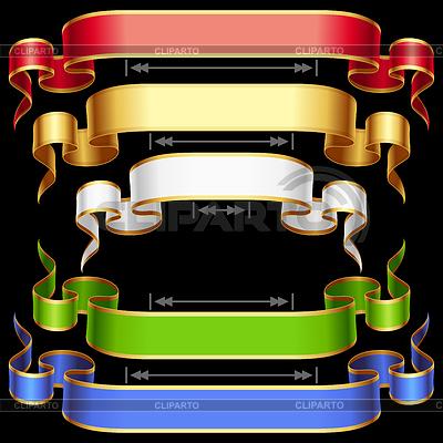 Set von Bändern | Stock Vektorgrafik |ID 3271227