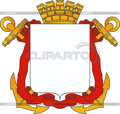 Russischen heraldischen Elemente | Illustration mit hoher Auflösung |ID 3258785