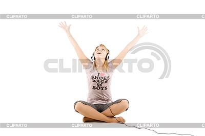 подросток слушает рок