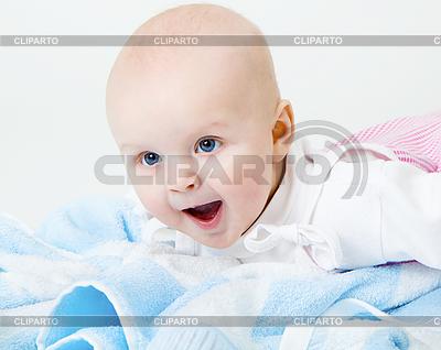 Glücklich schreiendes Baby | Foto mit hoher Auflösung |ID 3278706