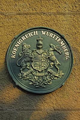 Płaskorzeźba Królestwo Wirtembergii | Foto stockowe wysokiej rozdzielczości |ID 3228011