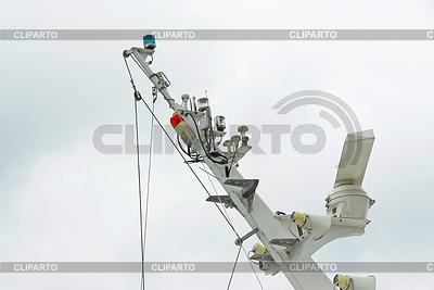 Funkanlage auf Schiff | Foto mit hoher Auflösung |ID 3229783