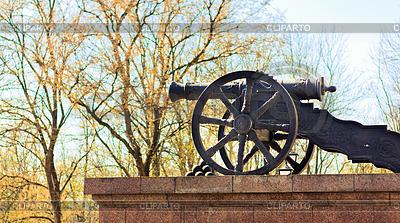 Kanone in Andersonville | Foto mit hoher Auflösung |ID 3226397