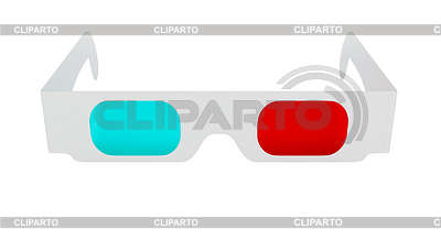 Glasses for watching 3D content | High resolution stock illustration |ID 3237988