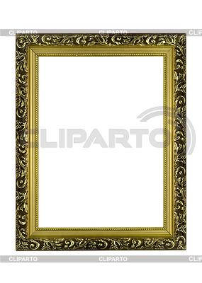 Pusty złote ramki | Foto stockowe wysokiej rozdzielczości |ID 3292968