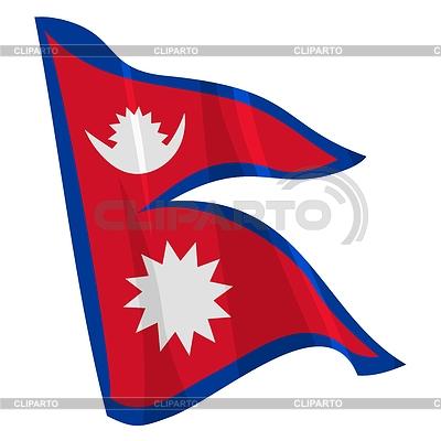 Флаг непала непальский флаг фото