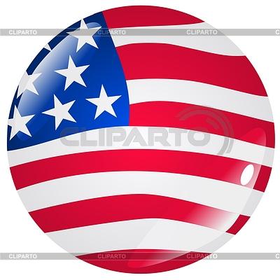 在美国的颜色按钮 | 向量插图 |ID 3251153
