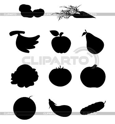 фрукты векторный клипарт: