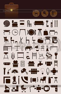 Haushalt-Icons | Stock Vektorgrafik |ID 3260131