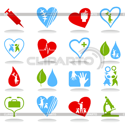 Medizinische Icons | Stock Vektorgrafik |ID 3261129