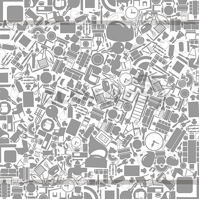 Möbel-Hintergrund | Stock Vektorgrafik |ID 3329859