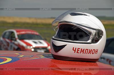 Autorennen-Helm | Foto mit hoher Auflösung |ID 3303939