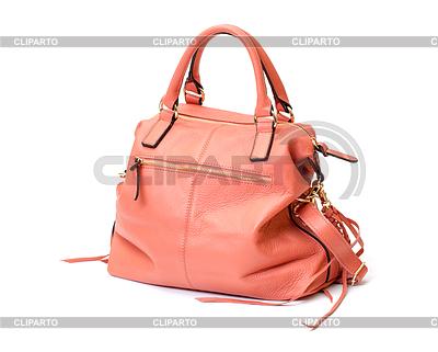 분홍색 가죽 숙녀 핸드백 | 높은 해상도 사진 |ID 3298728