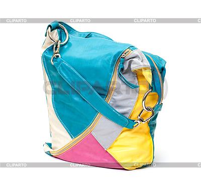 Vibrant Leder-Damen-Handtasche | Foto mit hoher Auflösung |ID 3298731