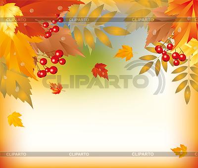 осень векторный клипарт:
