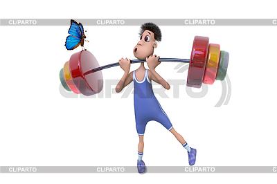 Картинка спортсмена для детей - 6633