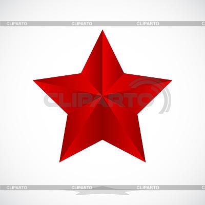 Red star | Klipart wektorowy |ID 3338496