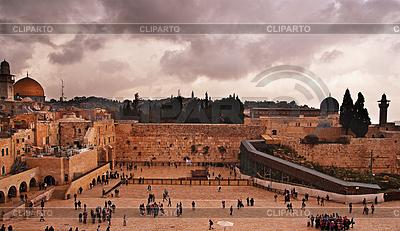 Klagemauer, Tempelberg, Jerusalem | Foto mit hoher Auflösung |ID 3349083