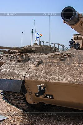 Czołg izraelski Merkava w Muzeum Latrun Armored Corps | Foto stockowe wysokiej rozdzielczości |ID 3349096