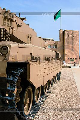 Pomnik i Muzeum Korpus Pancerny w Latrun, Izrael | Foto stockowe wysokiej rozdzielczości |ID 3349097