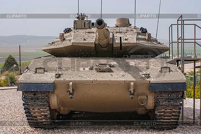 Israelischer Panzer Merkava in Panzerkops-Museum in Latrun | Foto mit hoher Auflösung |ID 3349098