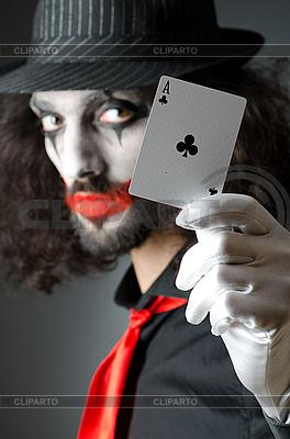 Joker mit Spielkarten | Foto mit hoher Auflösung |ID 3368641