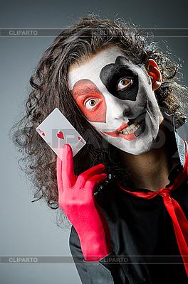 Joker mit Gesichtsmaske | Foto mit hoher Auflösung |ID 3368751