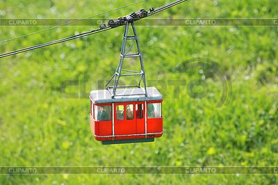 Seilbahn in Filme Schweiz während des Sommers | Foto mit hoher Auflösung |ID 3357681