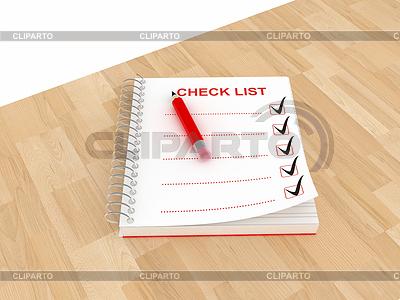 Checkliste Briefbogen | Illustration mit hoher Auflösung |ID 3358289