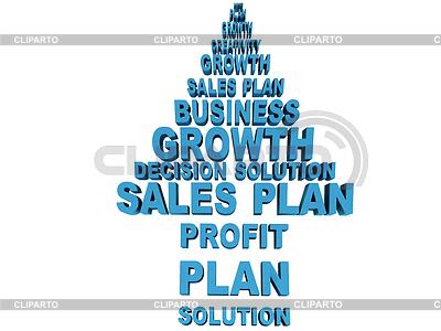 Gruppe von Geschäftsleuten verwandten Wörtern. Teil der Serie von | Illustration mit hoher Auflösung |ID 3359478